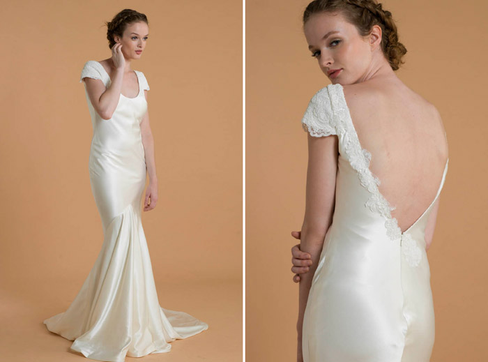 Jane – Love, Yu 2015 Bridal Collection. www.theweddingnotebook.com