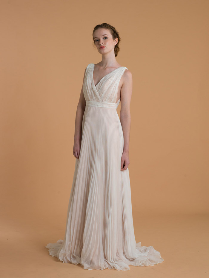 Frances – Love, Yu 2015 Bridal Collection. www.theweddingnotebook.com