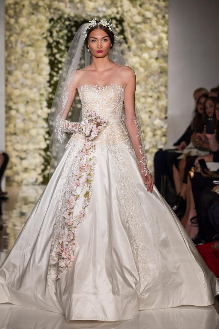 I'm Beyond – Reem Acra Fall 2015 Bridal Collection. www.theweddingnotebook.com