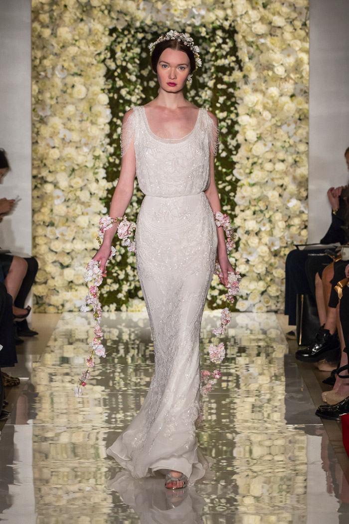 I'm Heavenly – Reem Acra Fall 2015 Bridal Collection. www.theweddingnotebook.com