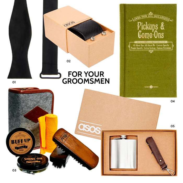 Christmas Gift Ideas For Your Groomsmen. www.theweddingnotebook.com