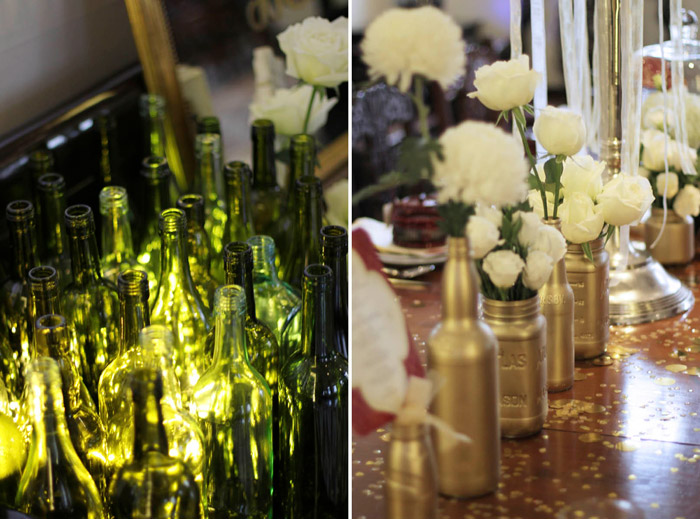 Event Styling by Bliss & Glitz. www.theweddingnotebook.com