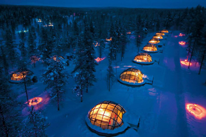 Glass Igloo Village at Hotel Kakslauttanen, Finland