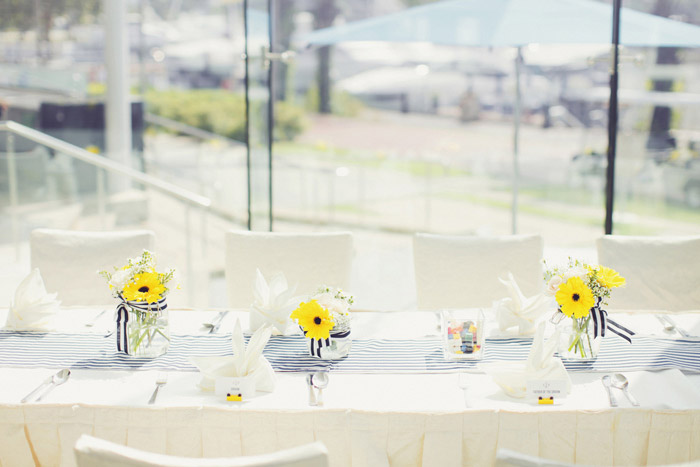 Photo by Ian Photography. Wedding venue at ONE°15 Marina Club. www.theweddingnotebook.com