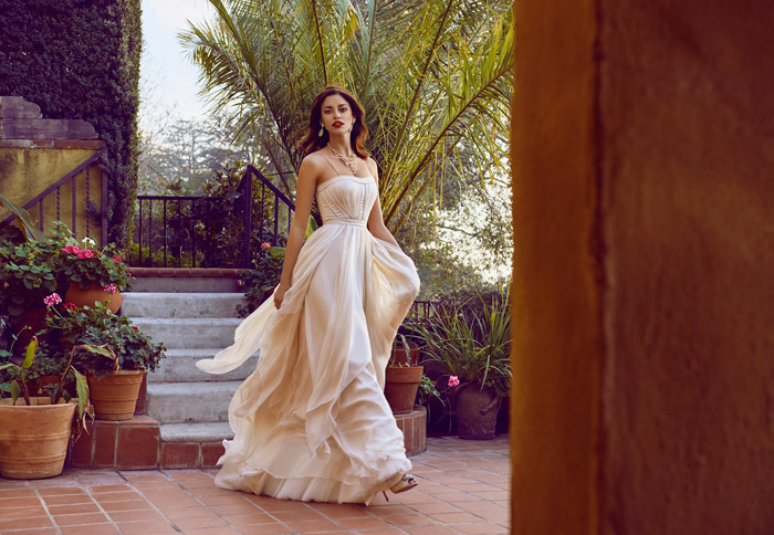 Cascada Gown and Cascada Petticoat - BHLDN Spring 2015 Bridal Collection. www.theweddingnotebook.com