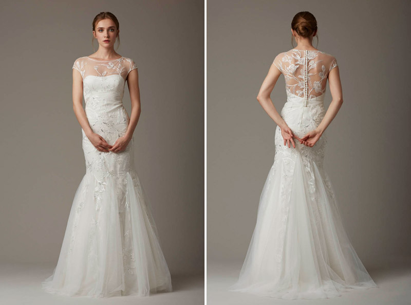 The Wishing Well - Leia Rose Spring 2016 Bridal Collection. www.theweddingnotebook.com