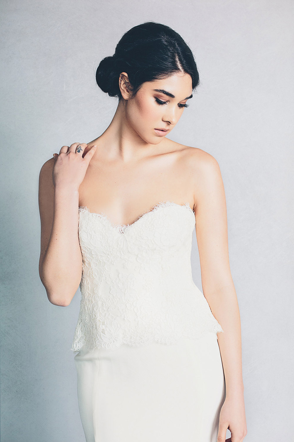 Hannah – Elizabeth Stuart Spring 2015 Collection. www.theweddingnotebook.com