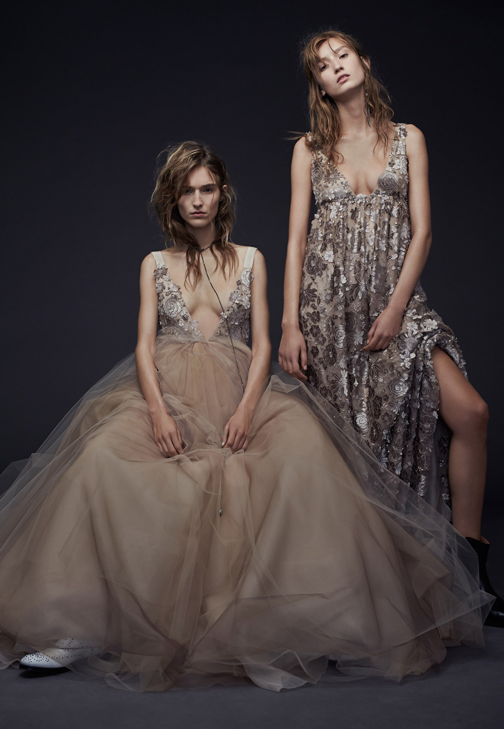 Penny and Paloma – Vera Wang Fall 2015 Collection. www.theweddingnotebook.com