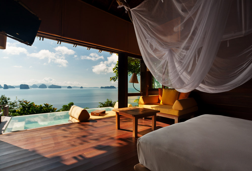 Six Senses Yao Noi, Thailand. Luxury Honeymoon Resorts in Southeast Asia. www.theweddingnotebook.com