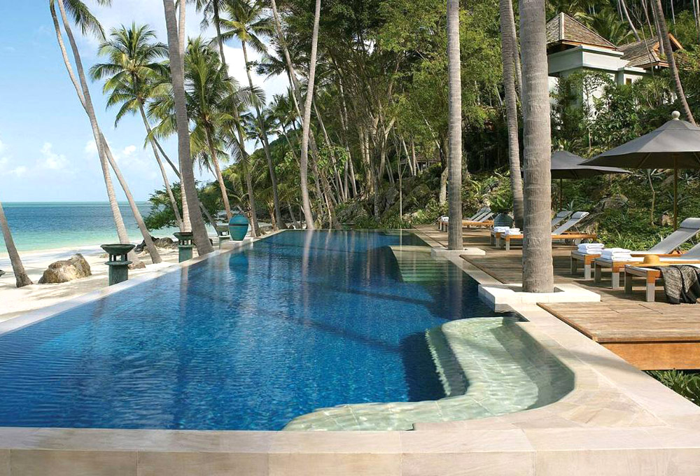 Four Seasons Koh Samui. Luxury Honeymoon Resorts in Southeast Asia. www.theweddingnotebook.com