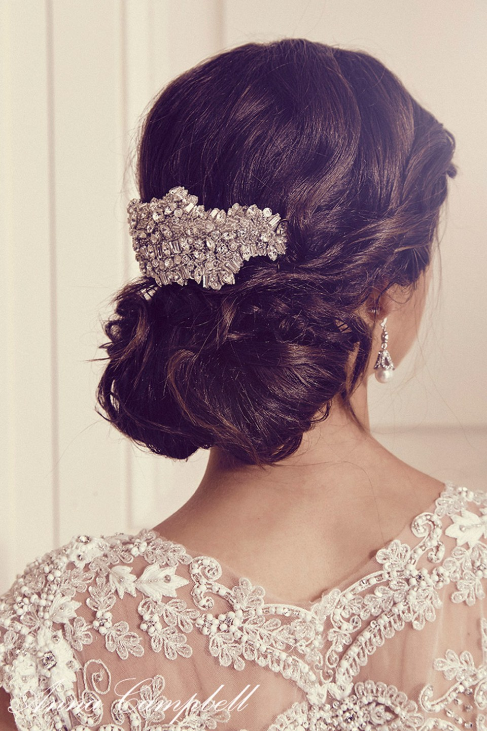 Willow Comb - Anna Campbell 2016 Collection. www.theweddingnotebook.com