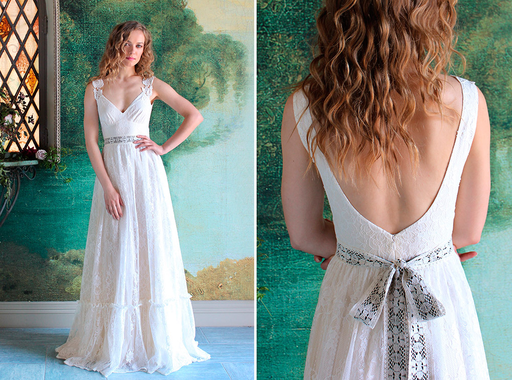Savannah - Romantique 2016 Collection. www.theweddingnotebook.com