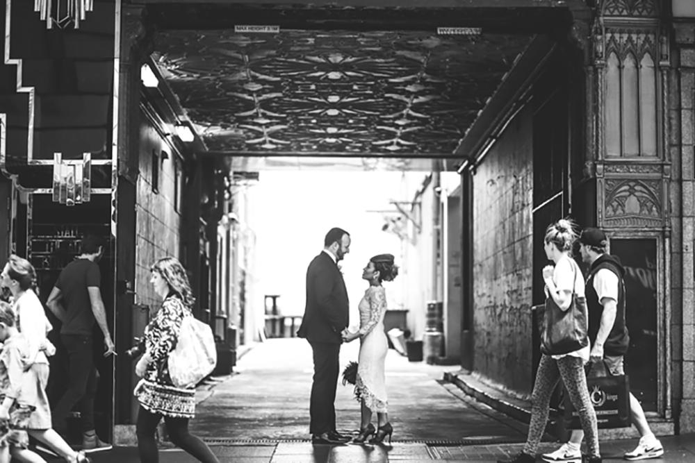 Photo by Lara Hotz Photography. www.theweddingnotebook.com
