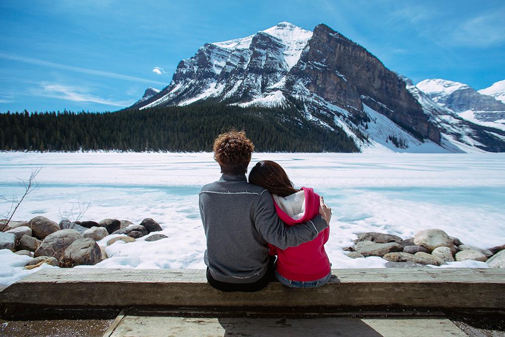 DIY Wedding Photoshoot, Canada, Lake Louise