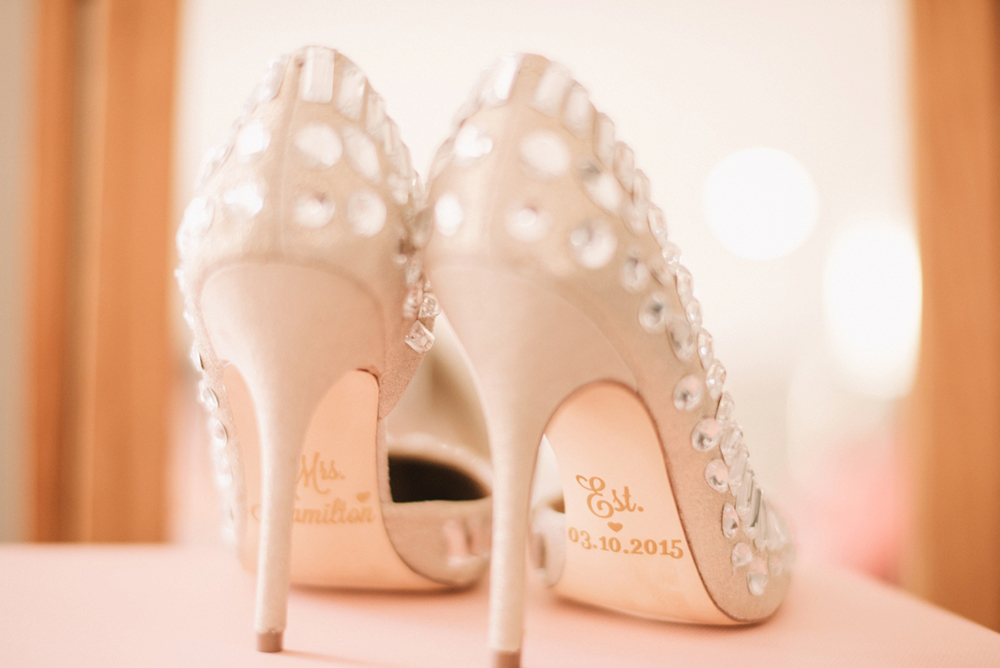 Steve Madden bridal shoes. Photo by Ben Yew Photography. www.theweddingnotebook.com