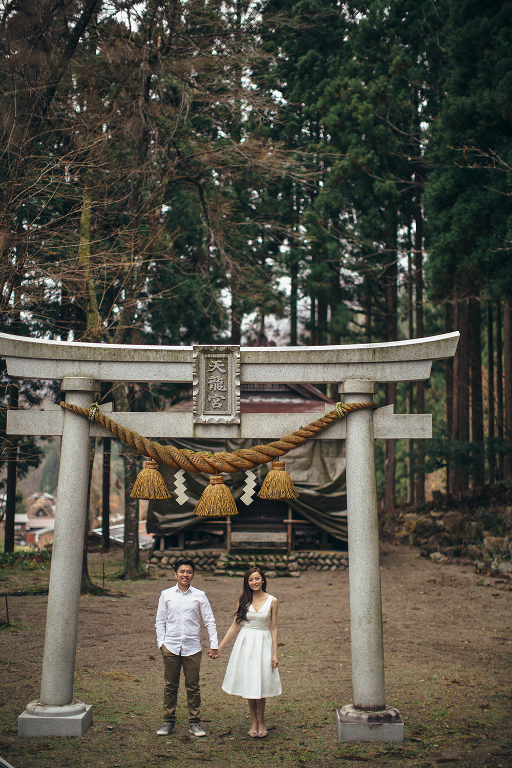 Photography by Quarter A. Shirakawa Japan. www.theweddingnotebook.com