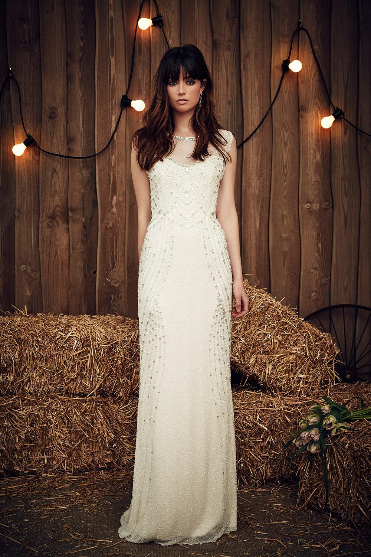 Betsy - Jenny Packham 2017 Bridal Collection. www.theweddingnotebook.com