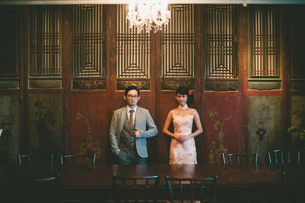 In The Mood Of Love Concept Shoot. Photo by Daren Chong Photography. www.theweddingnotebook.com