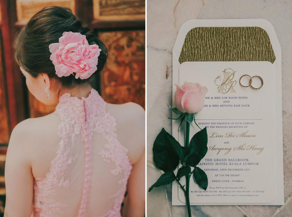 Louis Loo Photography. Wedding at The Majestic Kuala Lumpur. www.theweddingnotebook.com