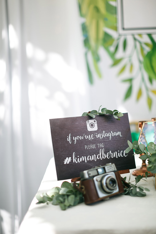 Instagram for wedding. Wefreeze Photography. www.theweddingnotebook.com