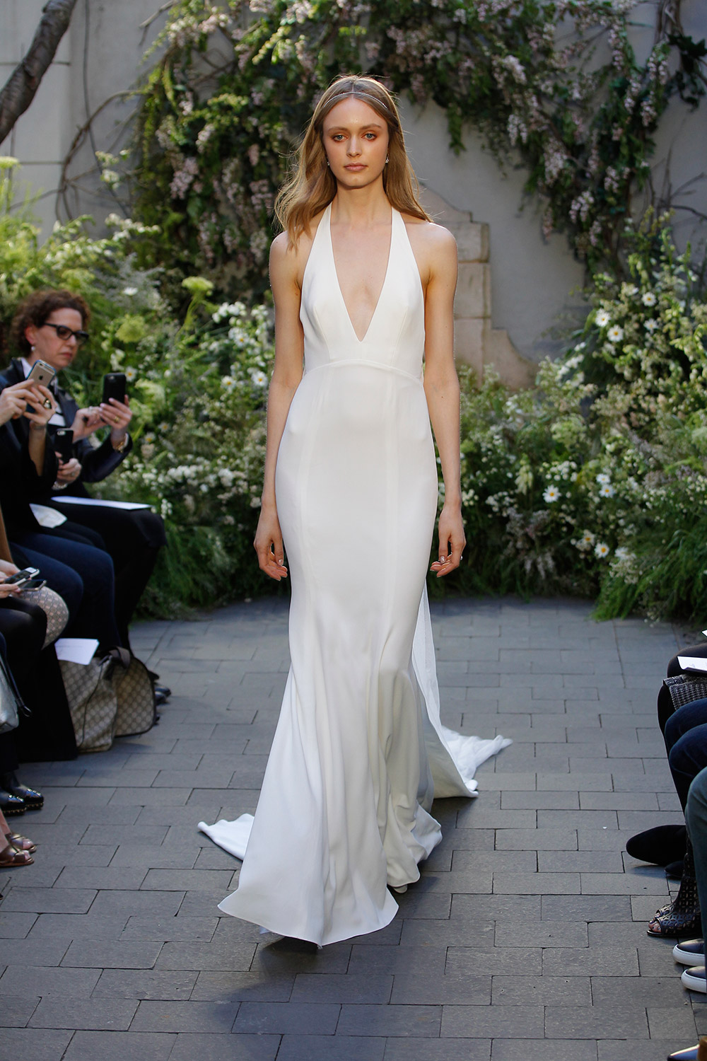 Marlowe - Monique Lhuillier Spring 2017 Bridal Collection. www.theweddingnotebook.com