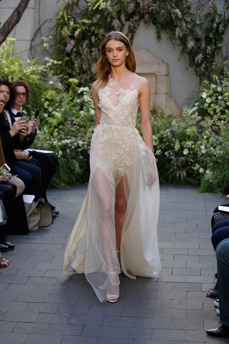 Gia - Monique Lhuillier Spring 2017 Bridal Collection. www.theweddingnotebook.com