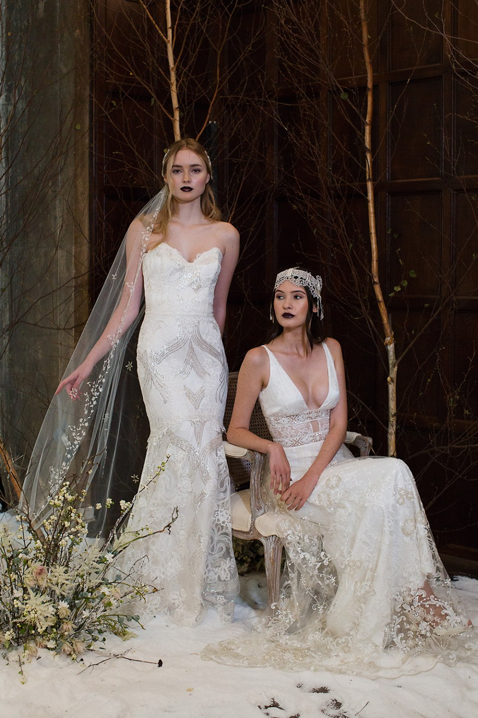 Claire Pettibone 2017 Bridal Collection. Photo by Sarah Kate. www.theweddingnotebook.com