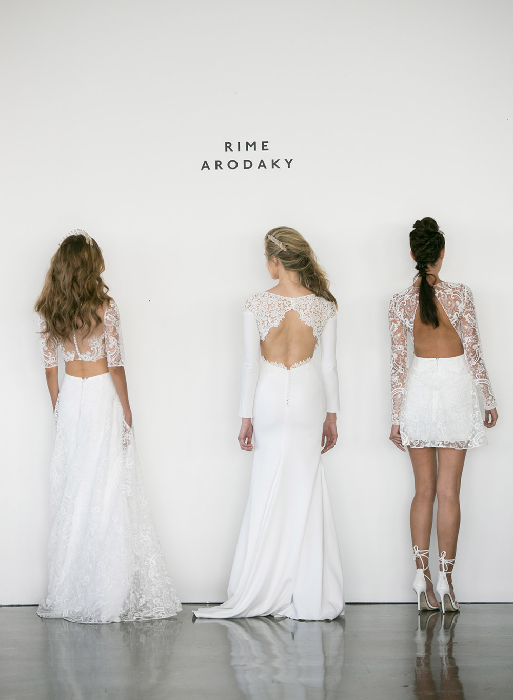 Rime Arodaky Fall 2017 Collection. www.theweddingnotebook.com