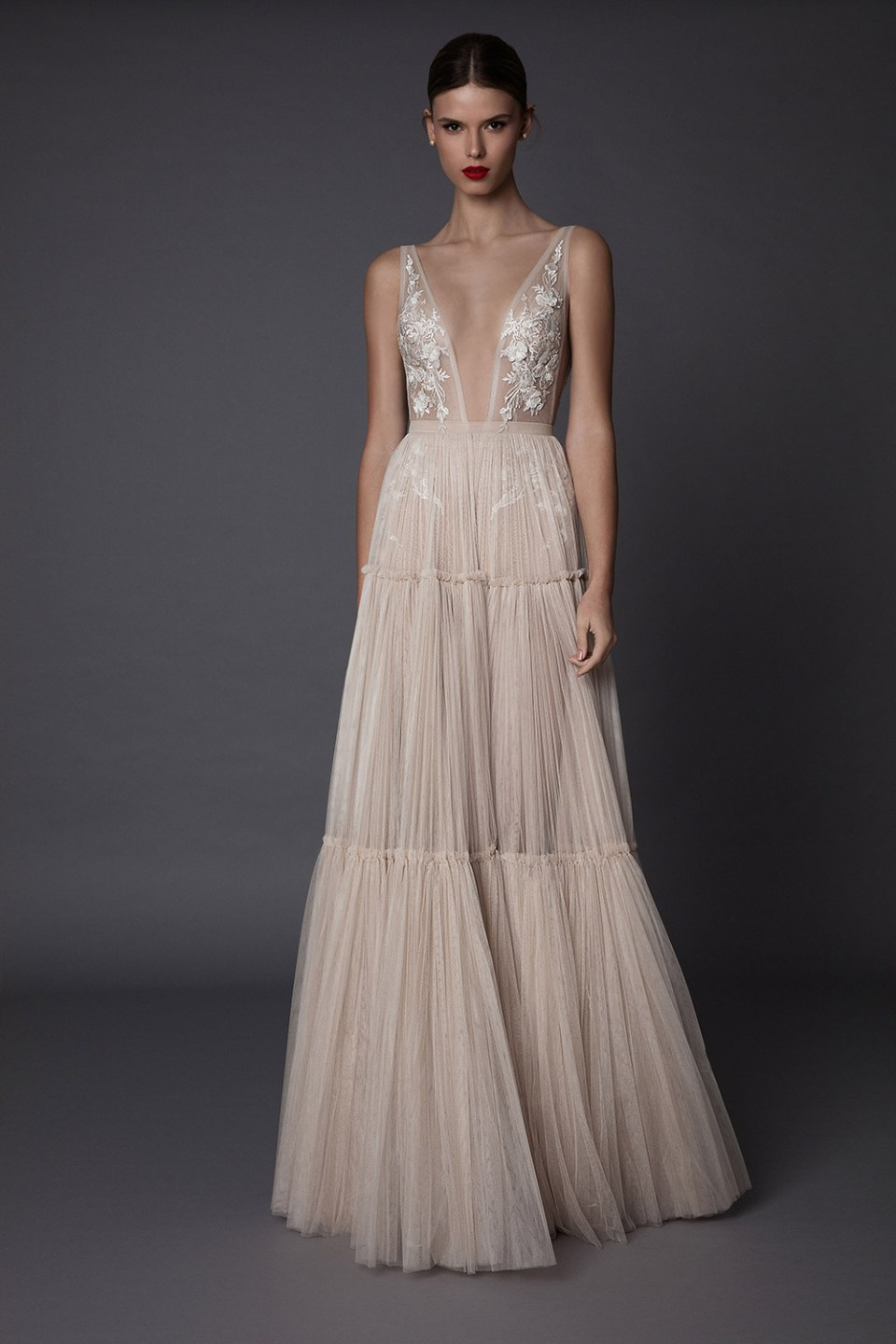 Annabel - Muse by Berta Fall 2017 Collection. www.theweddingnotebook.com