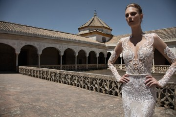 CAROLINE - Alon Livine 2017 Bridal Collection. www.theweddingnotebook.com