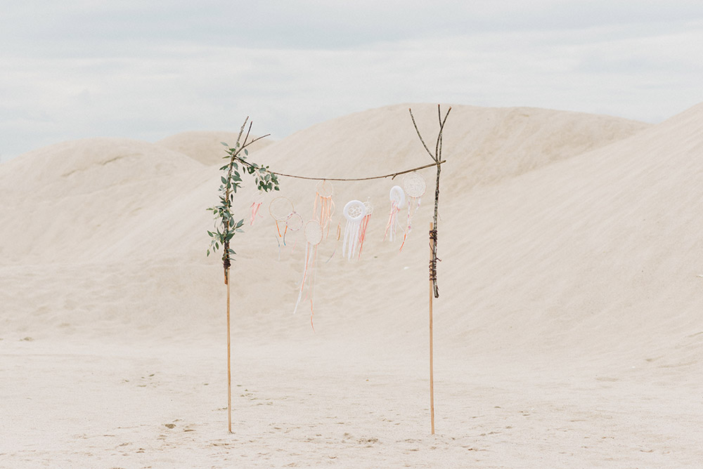 Sand dunes in Malaysia. Pantai Klebang, Malacca. Peter Herman Photography. www.theweddingnotebook.com