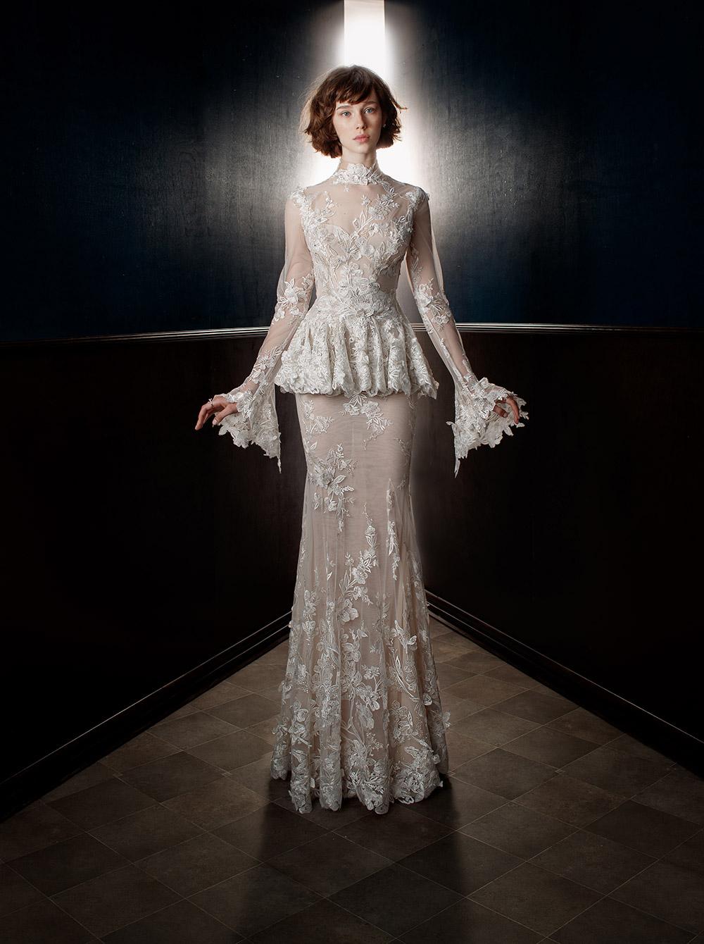 Tesle - Galia Lahav Spring 2018 Bridal Collection. www.theweddingnotebook.com