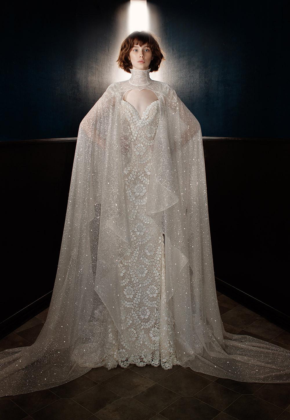 Rayne with Sterling Cape - Galia Lahav Spring 2018 Bridal Collection. www.theweddingnotebook.com