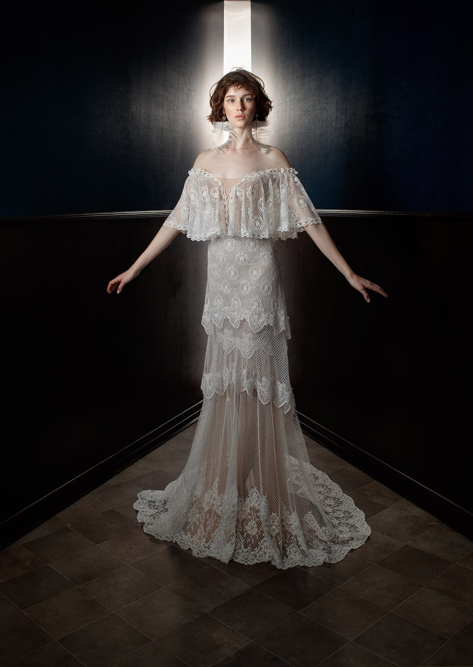 Lizzy - Galia Lahav Spring 2018 Bridal Collection. www.theweddingnotebook.com