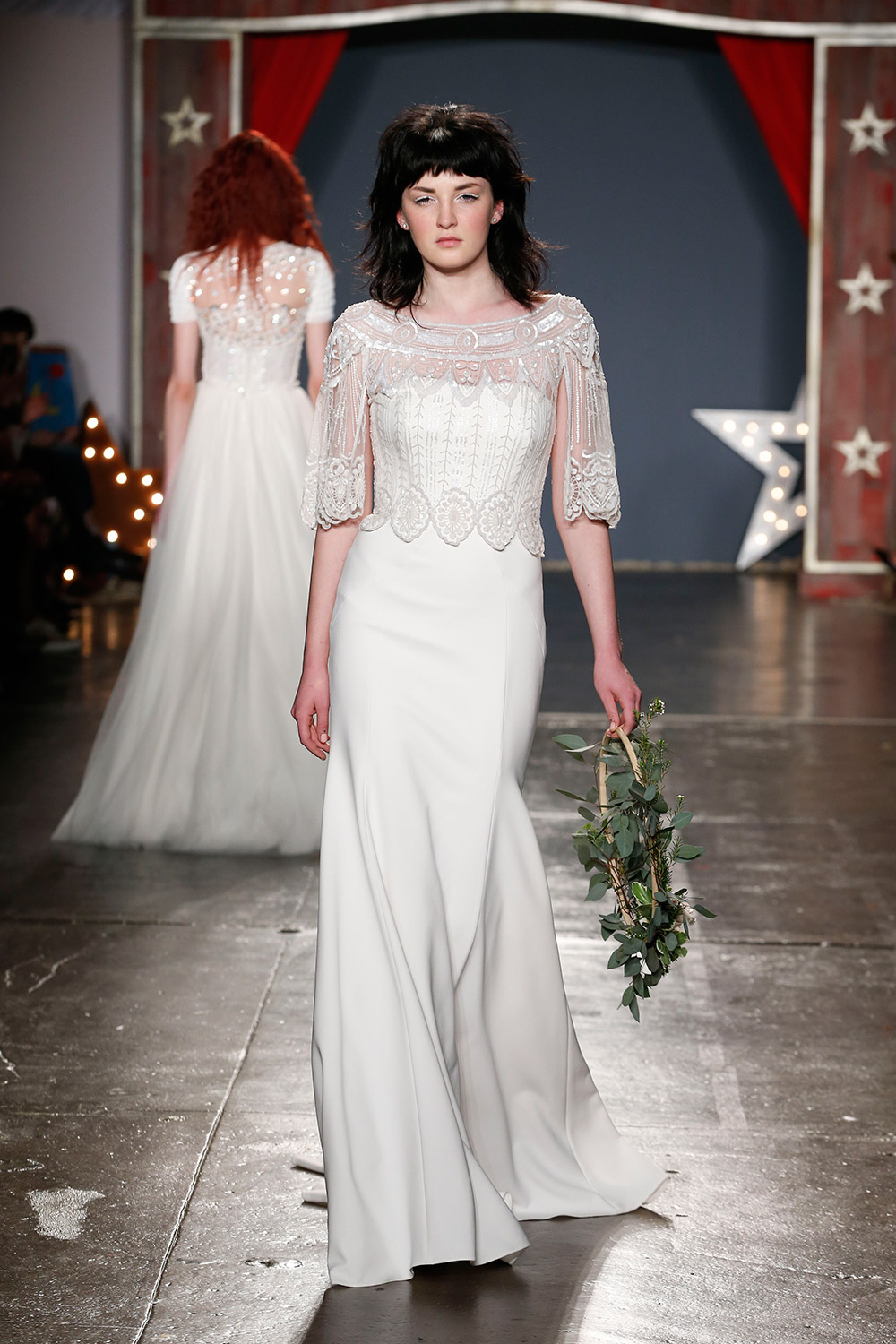 Jenny Packham 2018 Bridal Collection. tp://www.theweddingnotebook.com