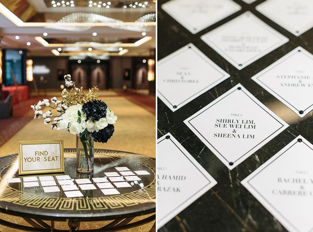 InterContinental Kuala Lumpur weddings. Styling by The Wedding Notebook. Photography by Ndrew Photography. www.theweddingnotebook.com