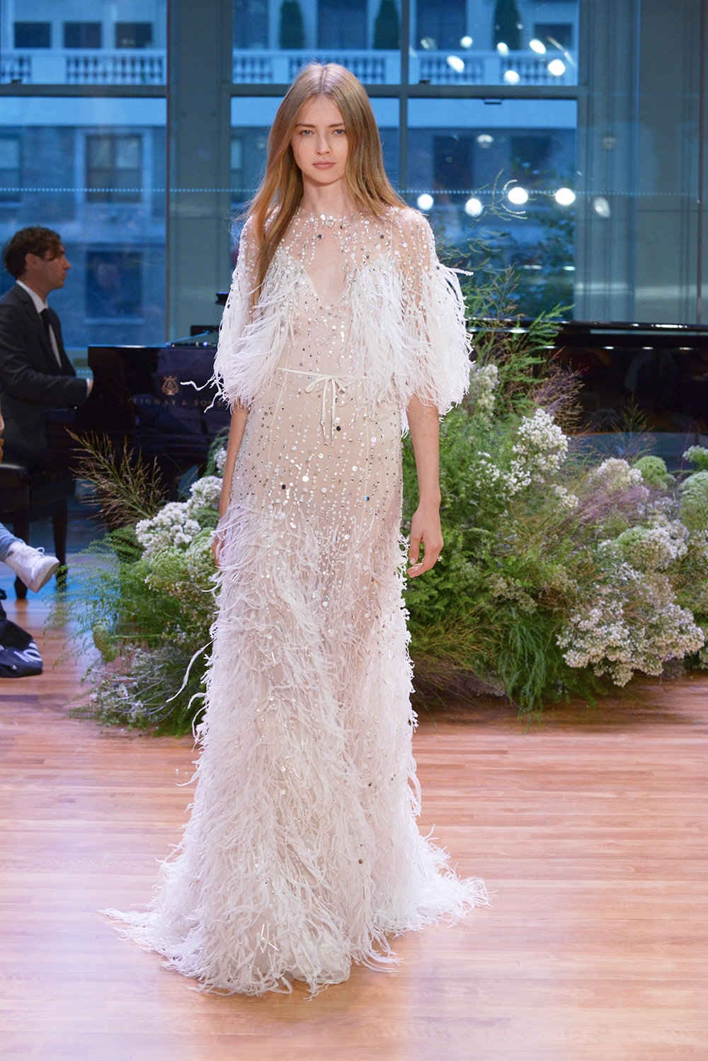 Stardust - Monique Lhuillier Fall 2017 Bridal Collection. www.theweddingnotebook.com