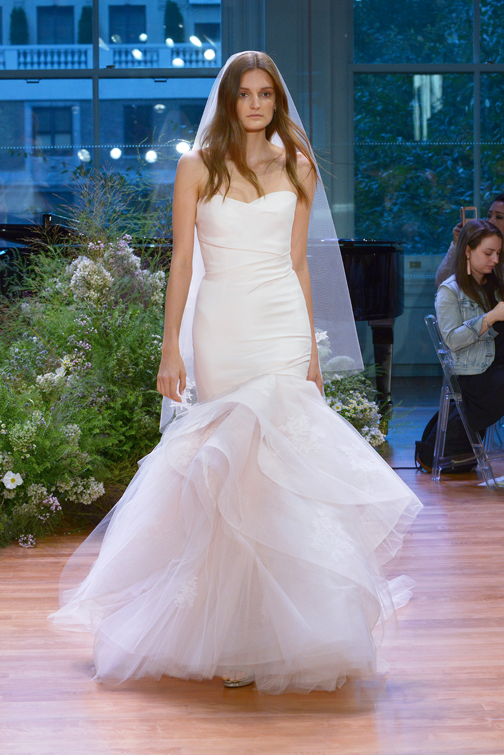 Hailee - Monique Lhuillier Fall 2017 Bridal Collection. www.theweddingnotebook.com