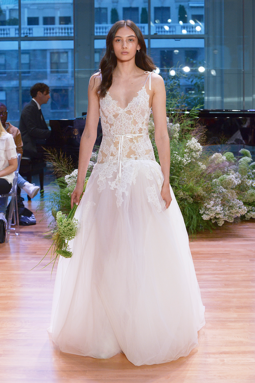 Chantal - Monique Lhuillier Fall 2017 Bridal Collection. www.theweddingnotebook.com