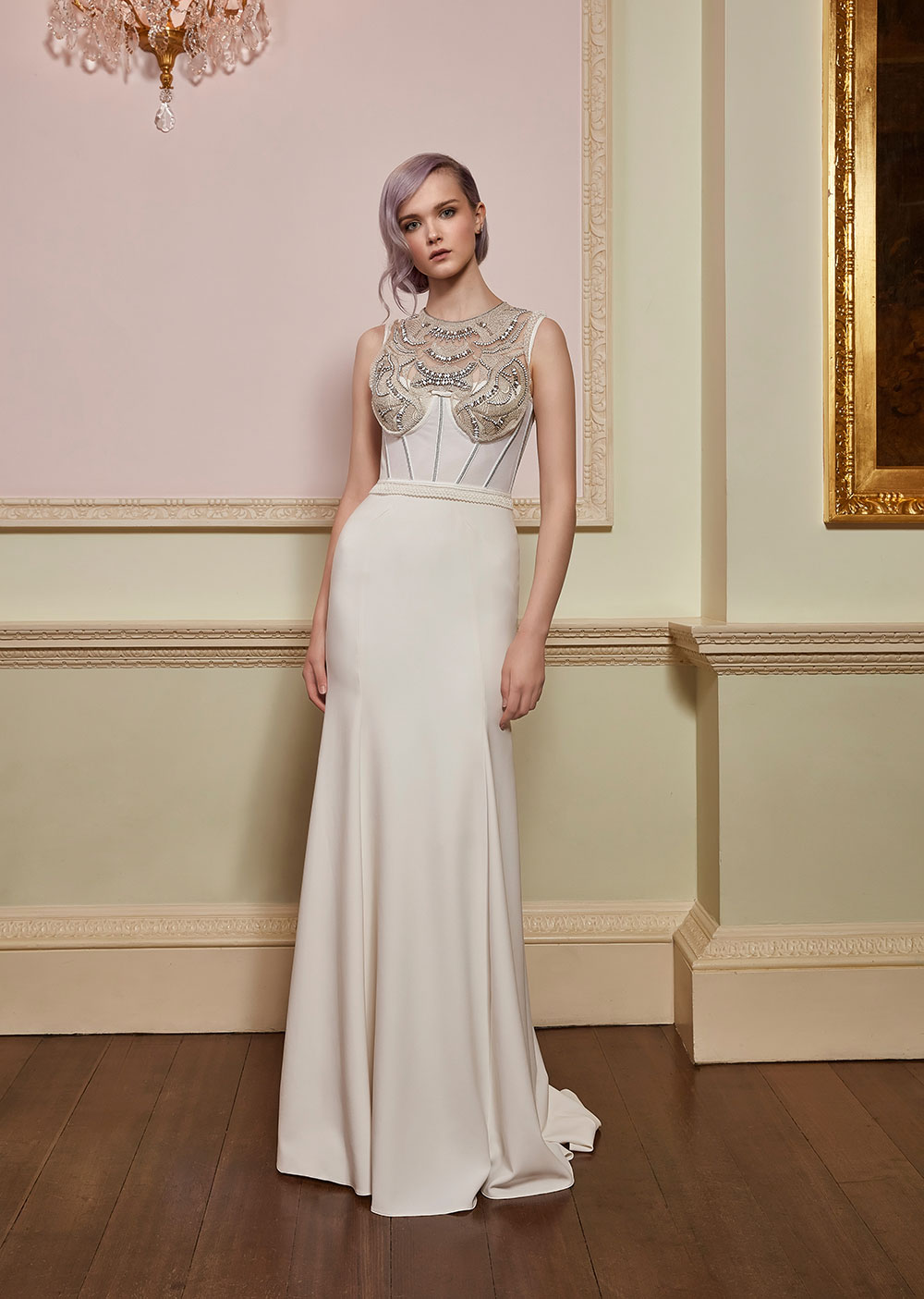 Siren - Jenny Packham 2018 Bridal Collection. www.theweddingnotebook.com