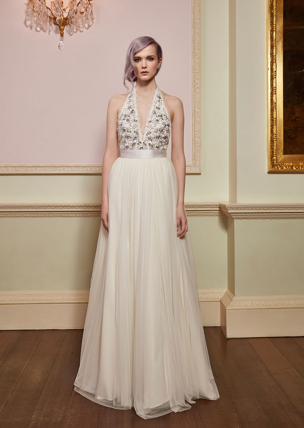 Verity & Romance - Jenny Packham 2018 Bridal Collection. www.theweddingnotebook.com