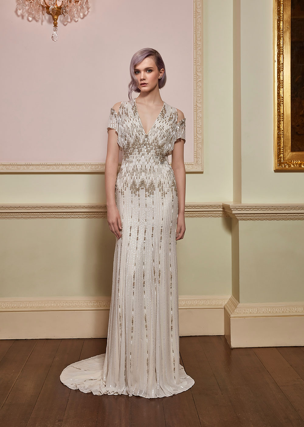 Dare - Jenny Packham 2018 Bridal Collection. www.theweddingnotebook.com