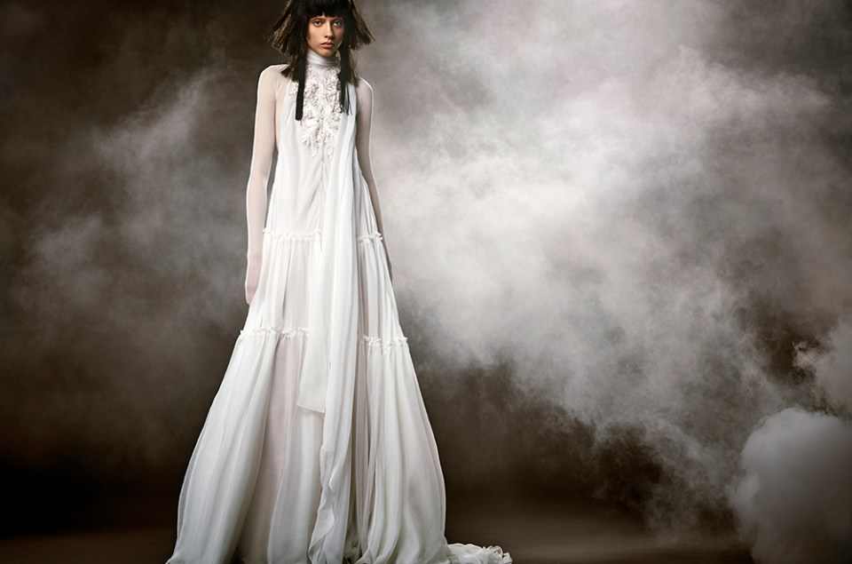 Clemence - Vera Wang Spring 2018 Bridal Collection. www.theweddingnotebook.com