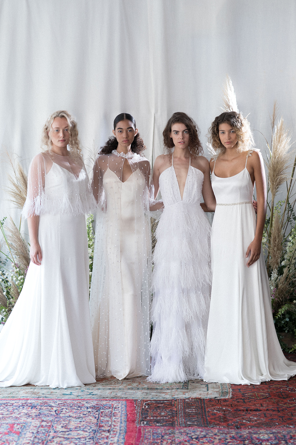 Alexandra Grecco Fall 2018 Bridal Collection. www.theweddingnotebook.com