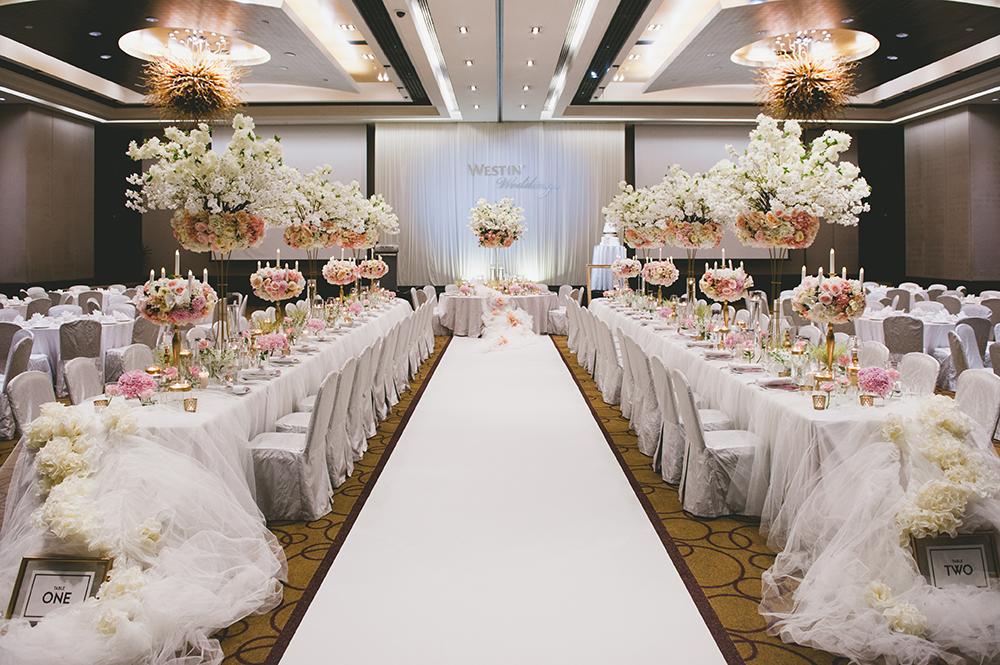 The Westin Kuala Lumpur wedding. Styling by The Wedding Notebook. Photography by Inlight Photos. www.theweddingnotebook.com