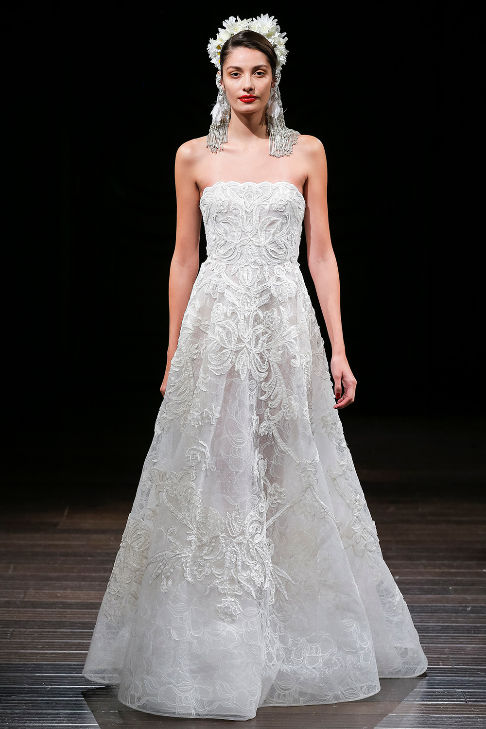 CAMDEN - Naeem Khan 2018 Bridal Collection. www.theweddingnotebook.com