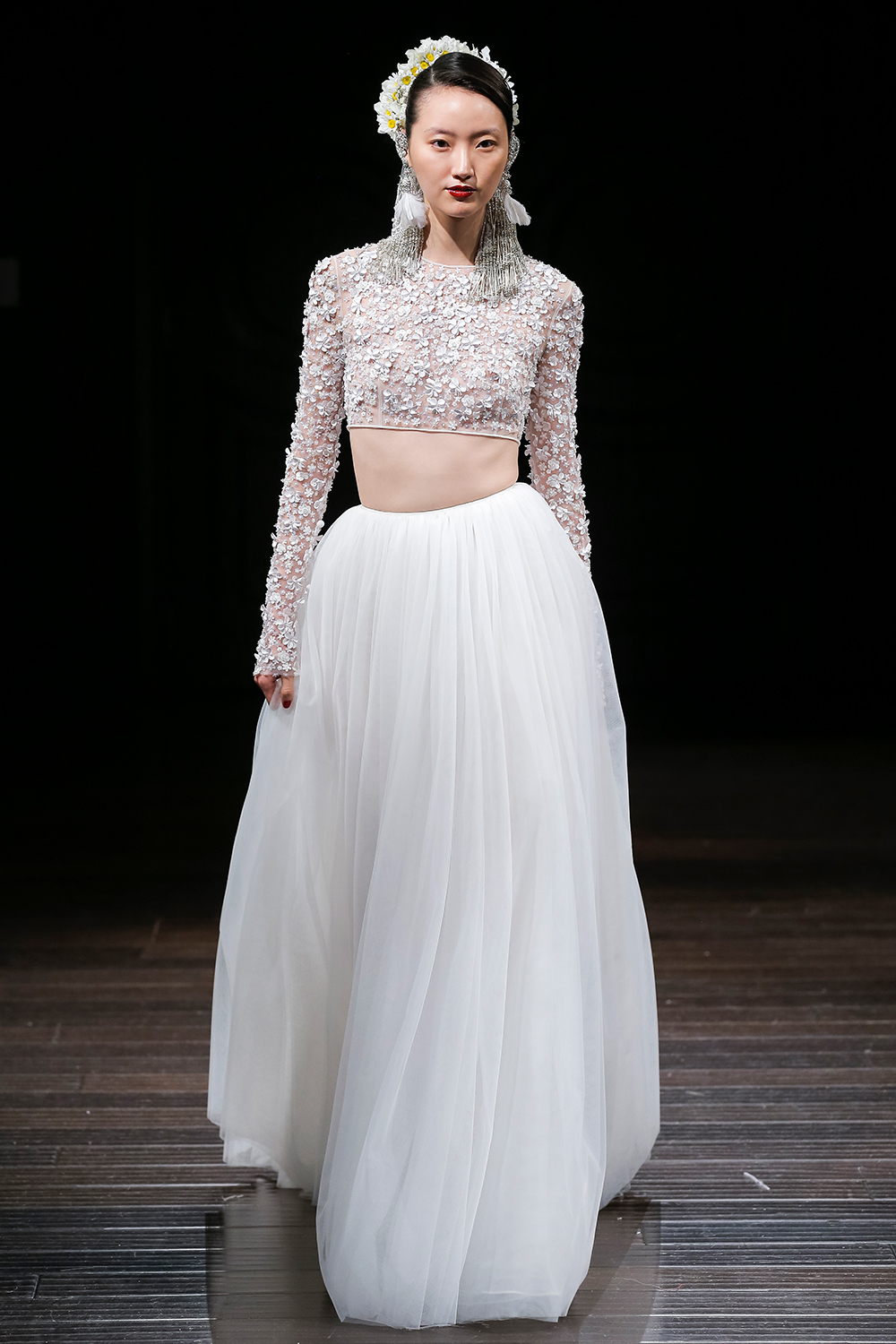 DELANCEY - Naeem Khan 2018 Bridal Collection. www.theweddingnotebook.com