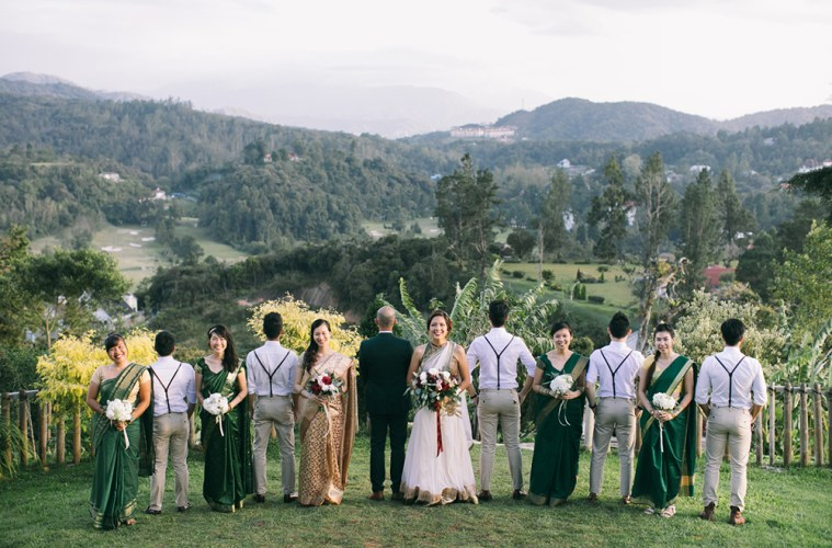 A Refreshing Forest Wedding At Jim Thompson Cottage Cameron