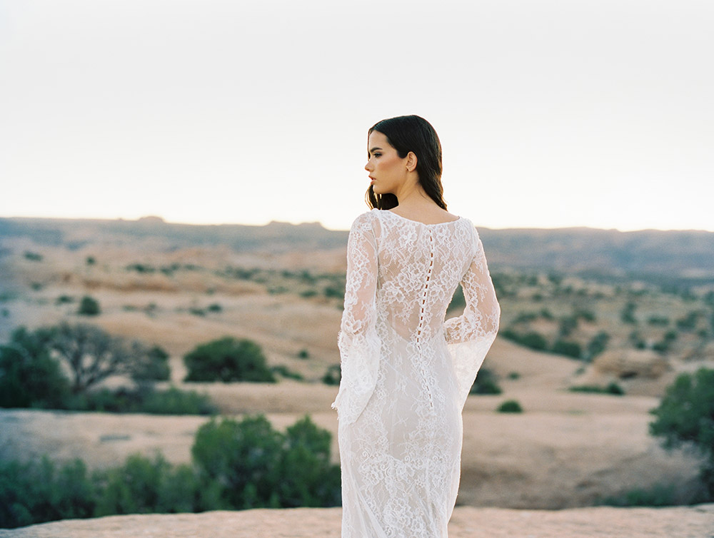 Sage - Wilderly Bride by Allure Bridals Spring 2018 Collection. www.theweddingnotebook.com