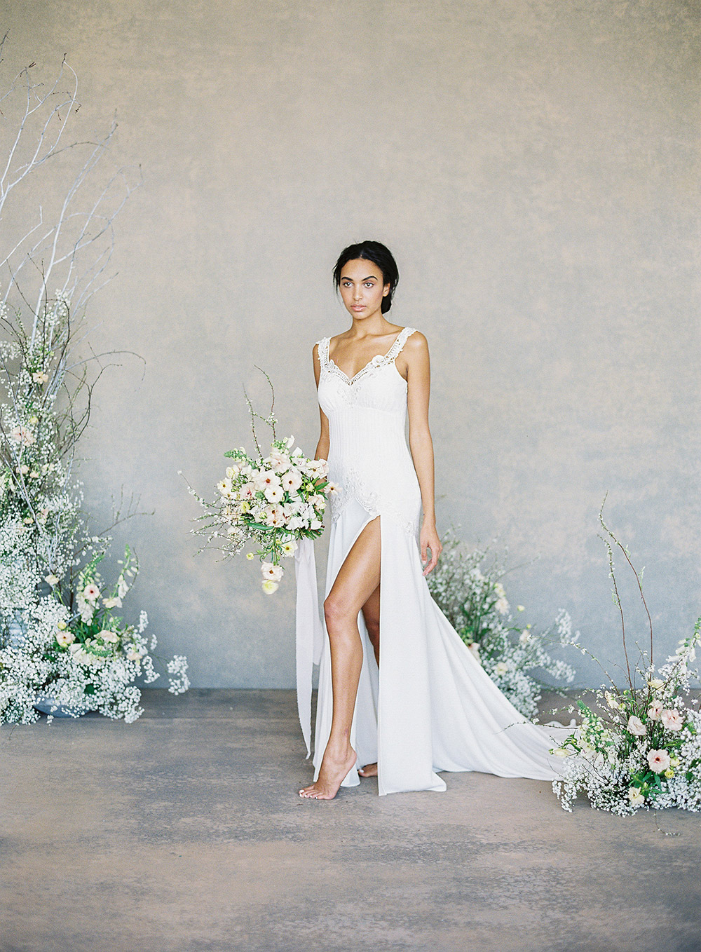 Angel – Claire Pettibone Spring 2019 Bridal Collection. www.theweddingnotebook.com